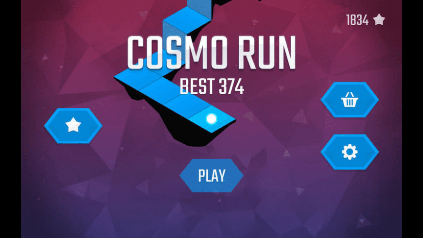 Cosmo Run for Mac - review, screenshots