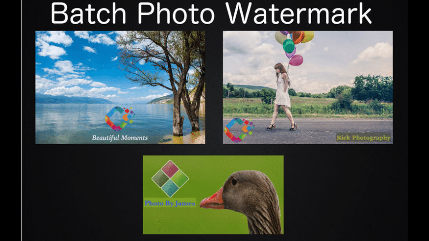Batch Photo Watermark for Mac - review, screenshots