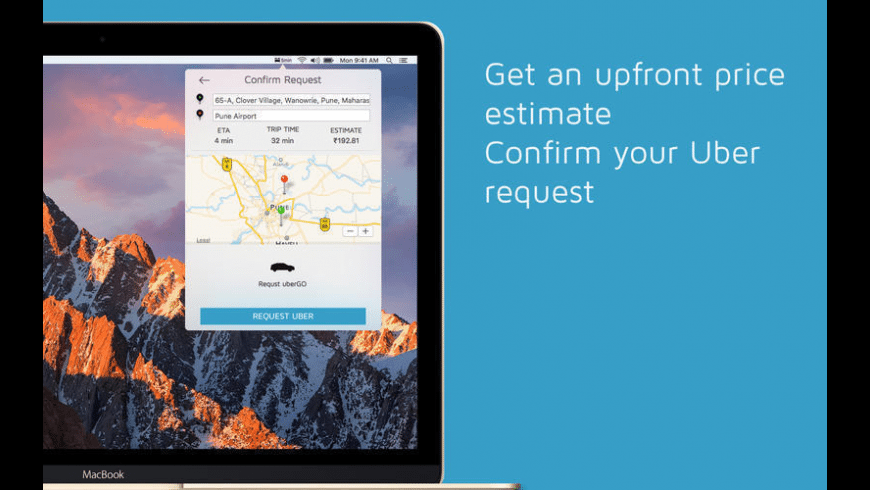 Rider for Uber Rides for Mac - review, screenshots
