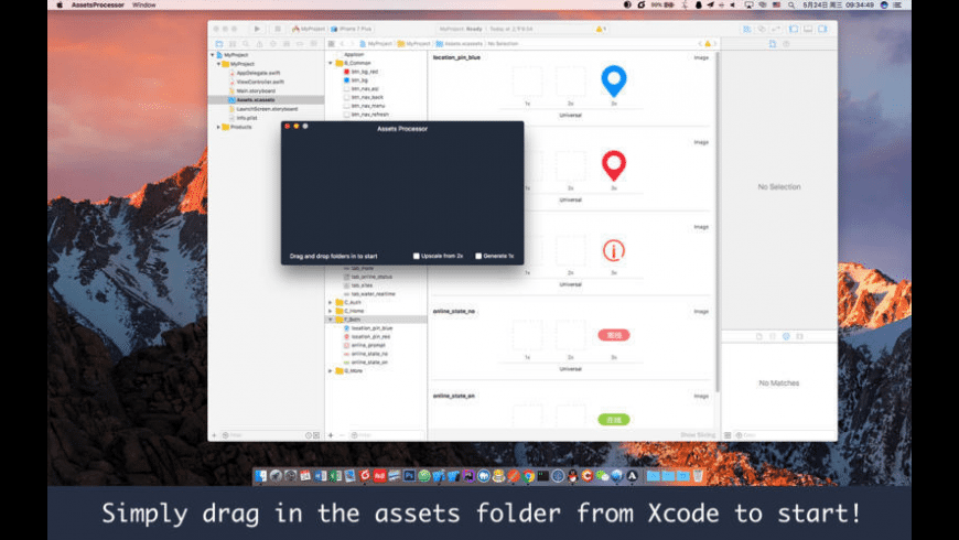 Assets Processor for Mac - review, screenshots