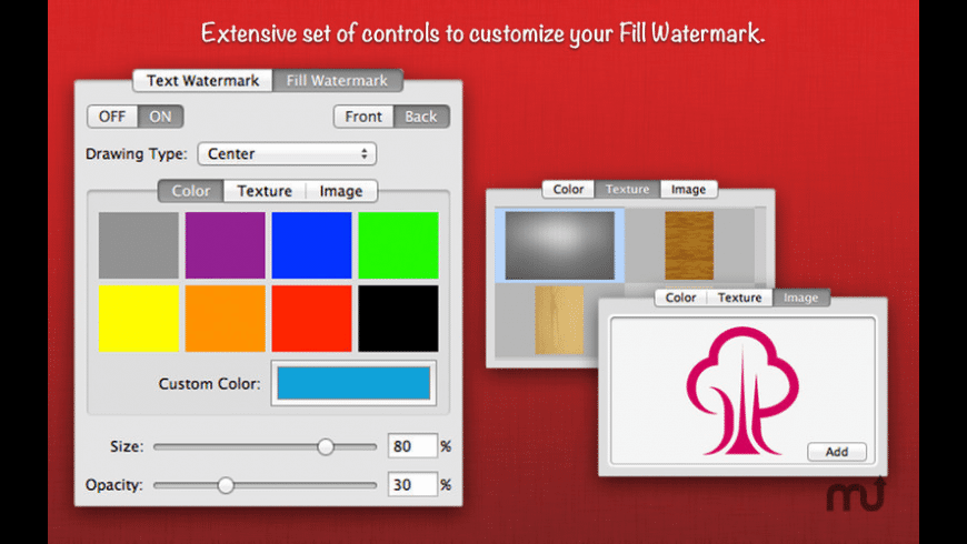 WatermarkPDF for Mac - review, screenshots
