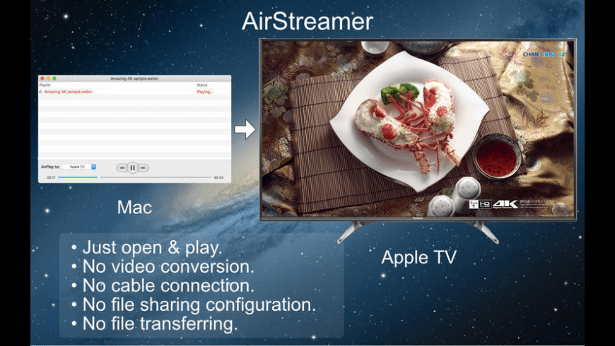 AirStreamer for Mac - review, screenshots