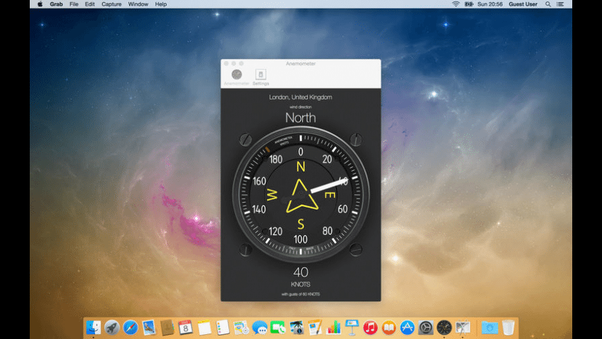 Anemometer for Mac - review, screenshots