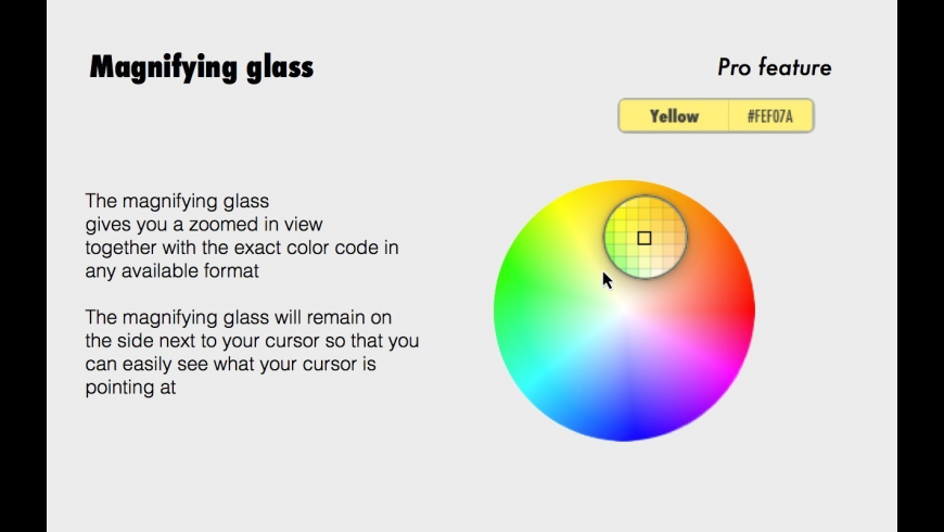 ColorCompass for Mac - review, screenshots