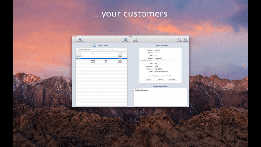 iziBill for Mac - review, screenshots
