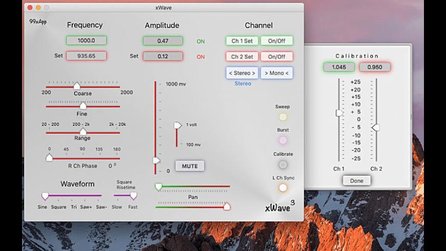 xWave for Mac - review, screenshots