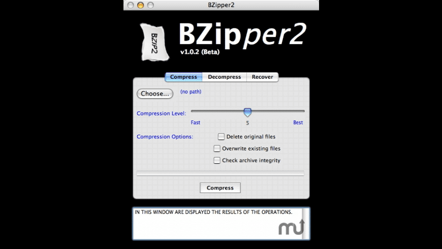 BZipper2 for Mac - review, screenshots