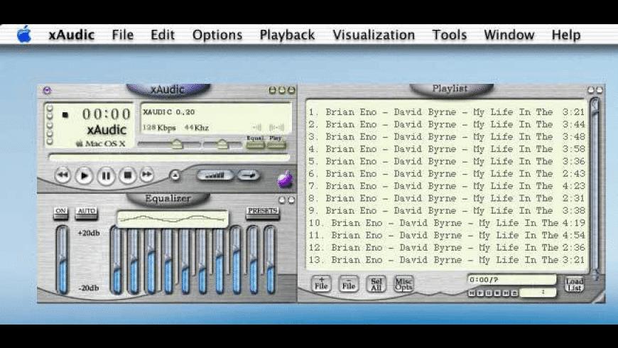 xAudic for Mac - review, screenshots