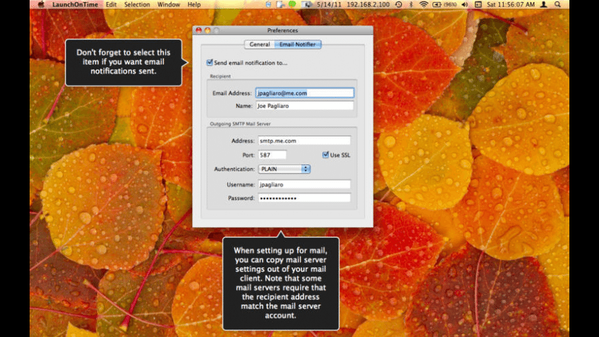 LaunchOnTime for Mac - review, screenshots