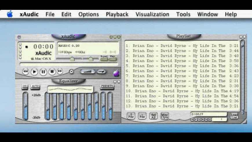 xAudic for Mac - review, screenshots