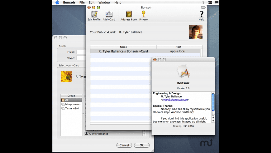 Bonsoir for Mac - review, screenshots