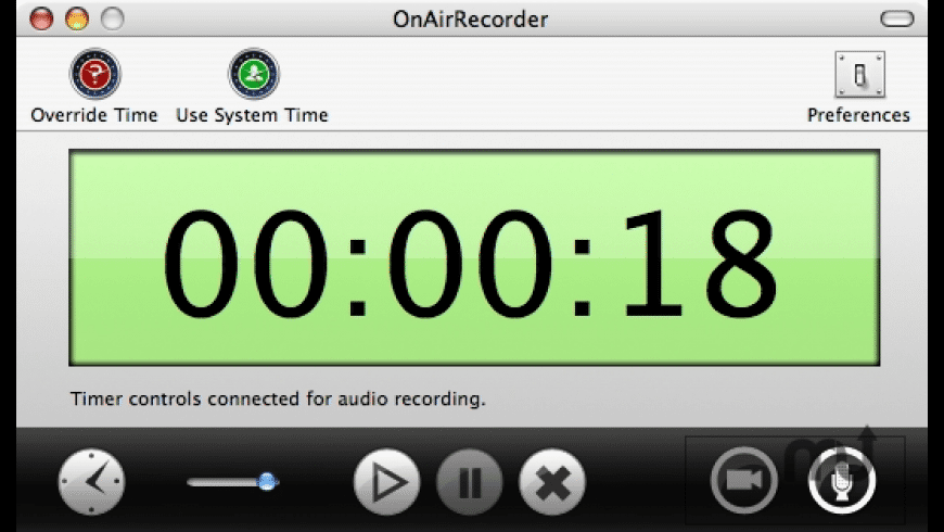 OnAirRecorder for Mac - review, screenshots