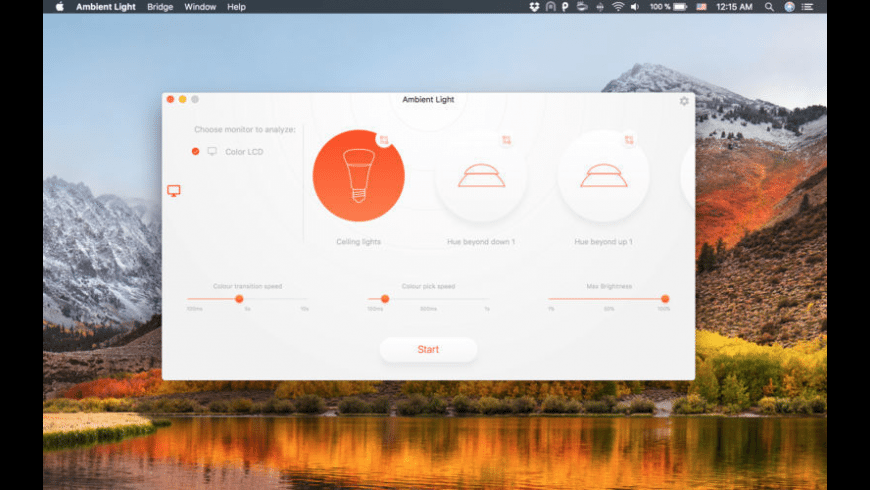 Ambient Light for Mac - review, screenshots