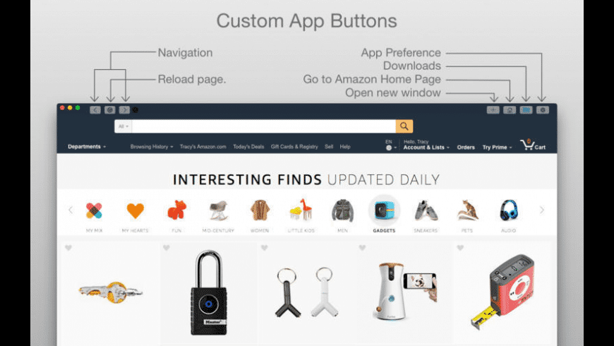 iBuy from Amazon for Mac - review, screenshots
