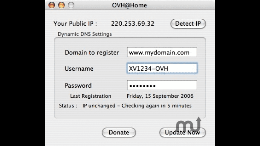 OVH@Home for Mac - review, screenshots