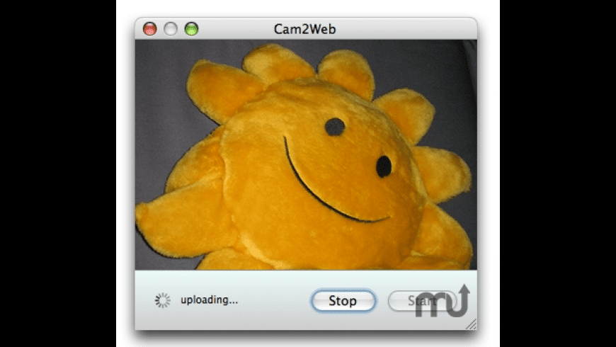 Cam2Web for Mac - review, screenshots