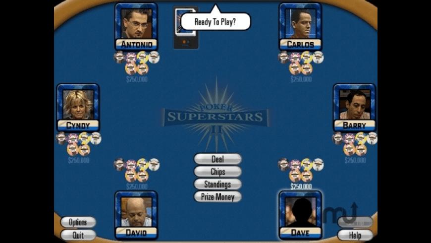 Poker Superstars II for Mac - review, screenshots
