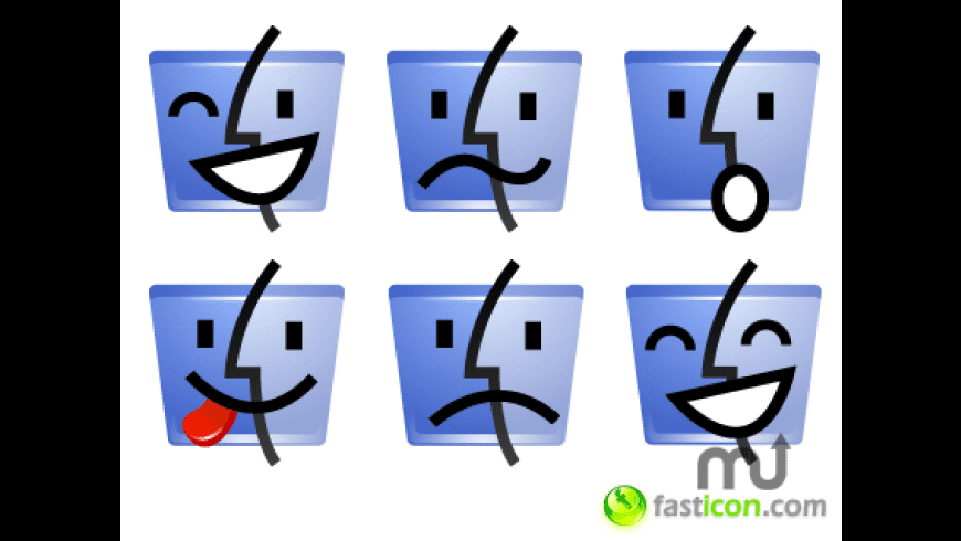 Finder Emoticons for Mac - review, screenshots