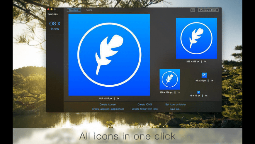 IconFly Desktop for Mac - review, screenshots