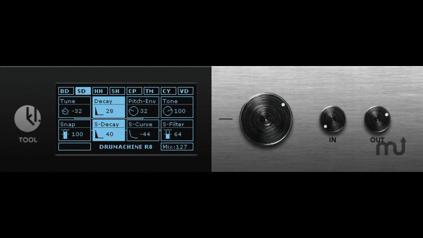 DRUMACHINE R8 for Mac - review, screenshots