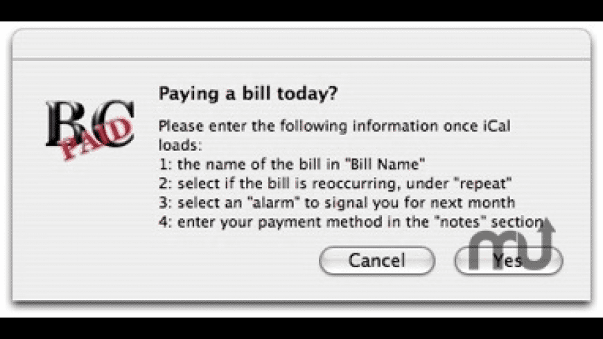BillCollector for Mac - review, screenshots
