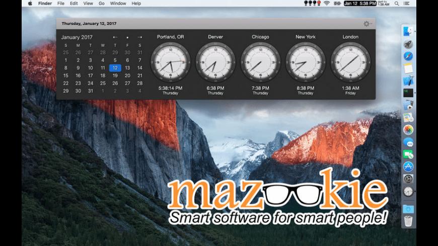 VistaClock for Mac - review, screenshots