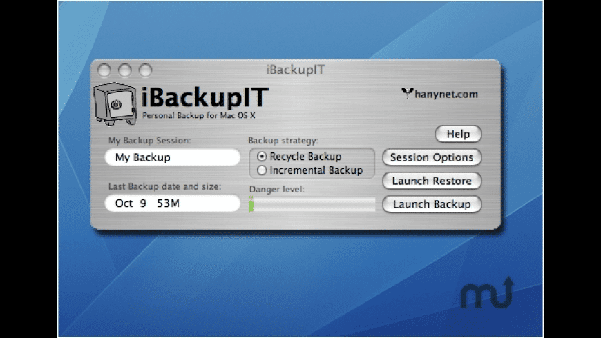 iBackupIt for Mac - review, screenshots