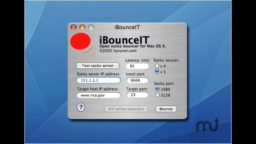 iBounceIT for Mac - review, screenshots