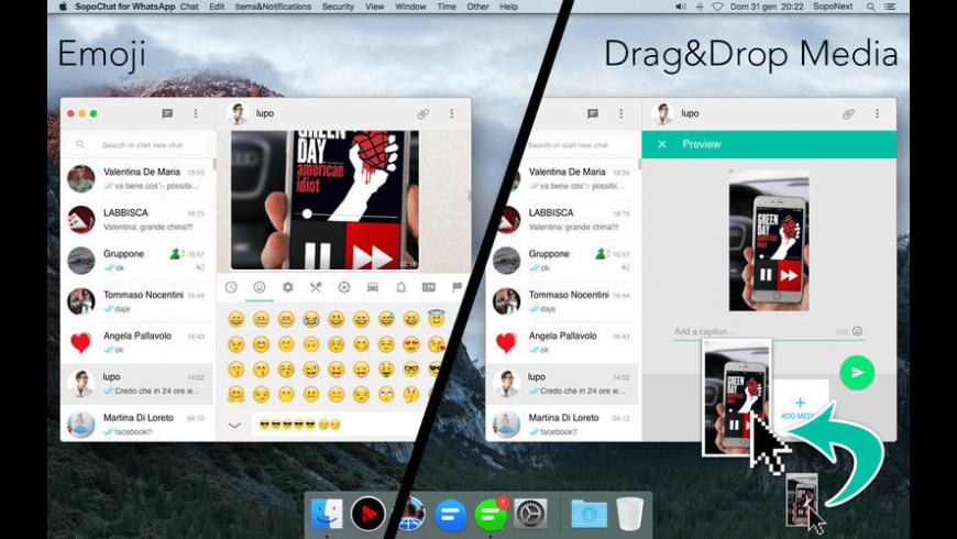 SopoChat for WhatsApp for Mac - review, screenshots