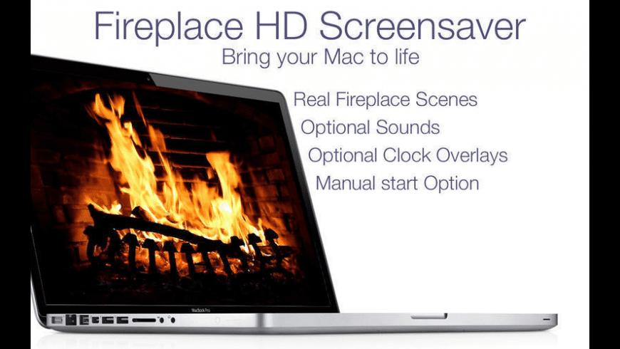 Fireplace Live HD for Mac - review, screenshots