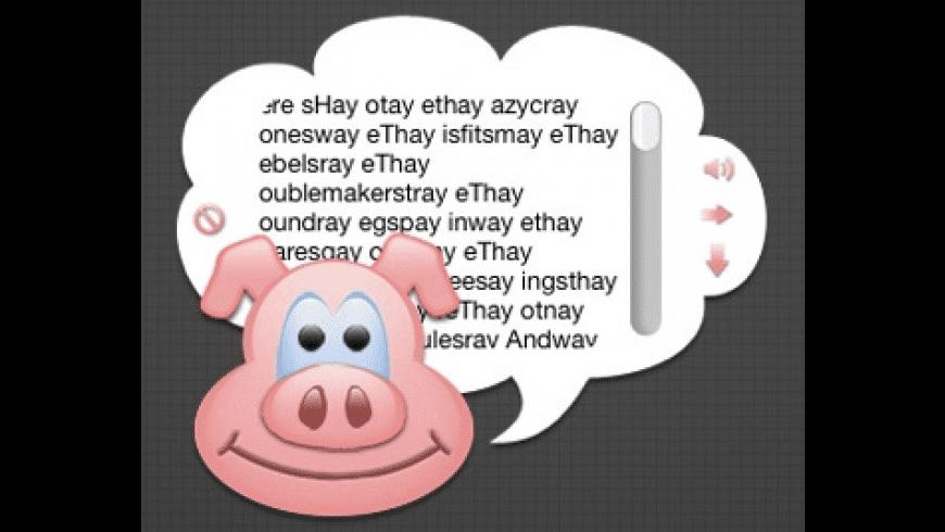 Pig Latin Translator for Mac - review, screenshots