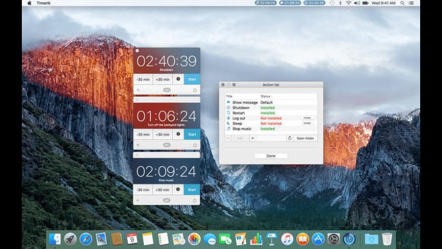 Timerik for Mac - review, screenshots