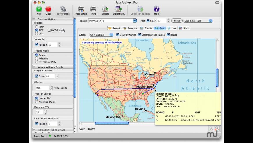 Path Analyzer Pro for Mac - review, screenshots