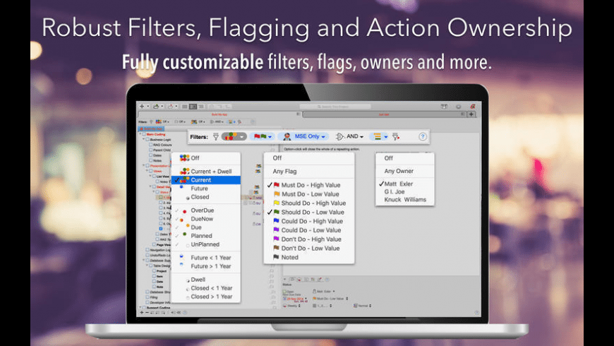 Actio for Mac - review, screenshots