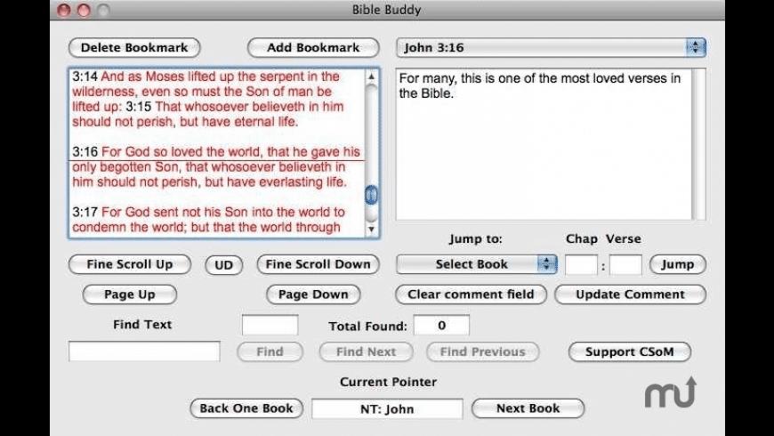 Bible Buddy for Mac - review, screenshots