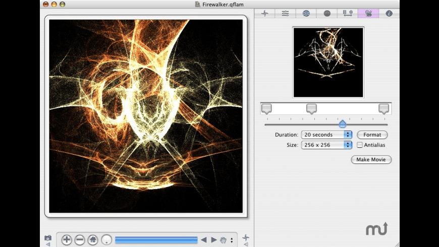 quadrium | flame for Mac - review, screenshots