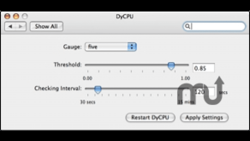 DyCPU for Mac - review, screenshots