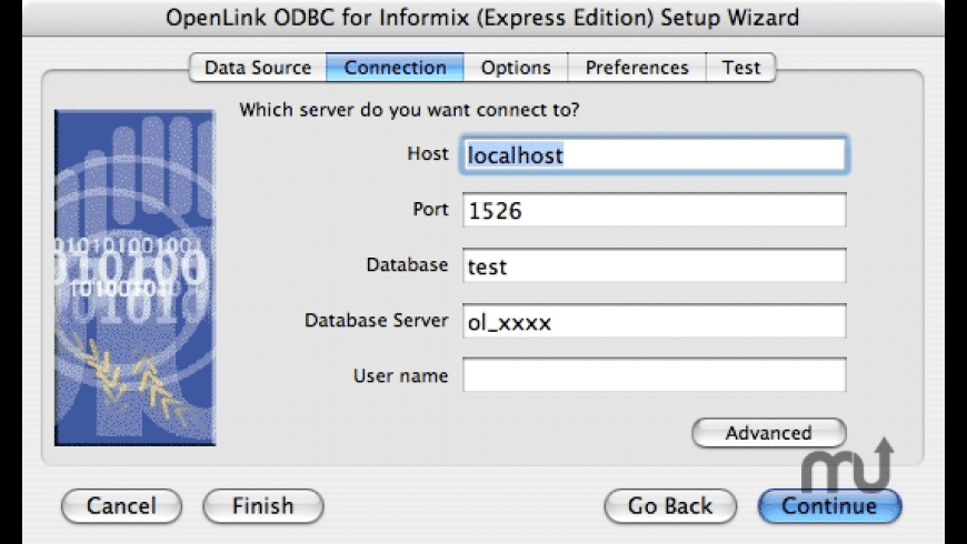 OpenLink ODBC Driver for Informix for Mac - review, screenshots