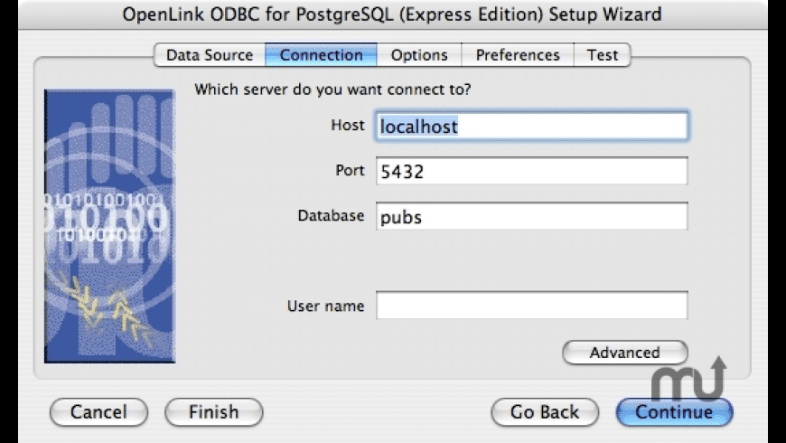 OpenLink Express ODBC Driver for PostgreSQL for Mac - review, screenshots