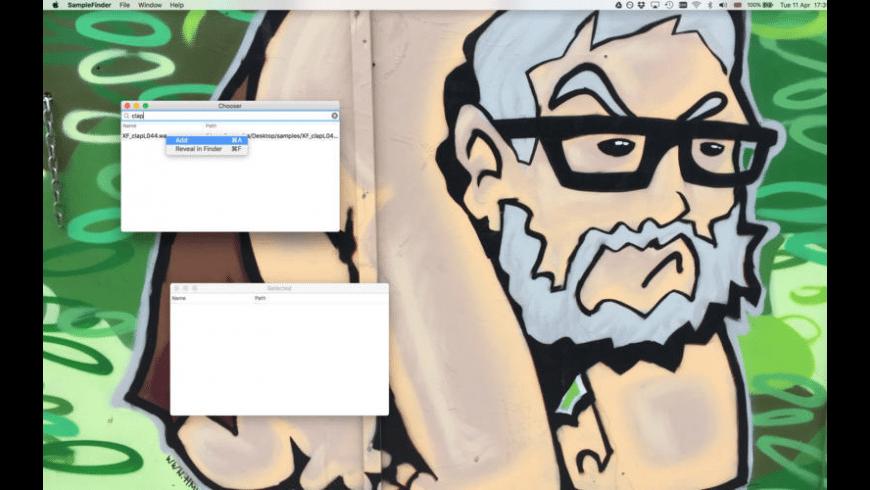 SampleFinder for Mac - review, screenshots