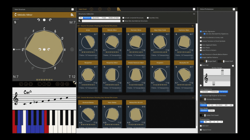 Tessitura Pro for Mac - review, screenshots