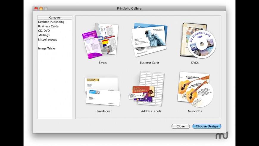 Printfolio for Mac - review, screenshots