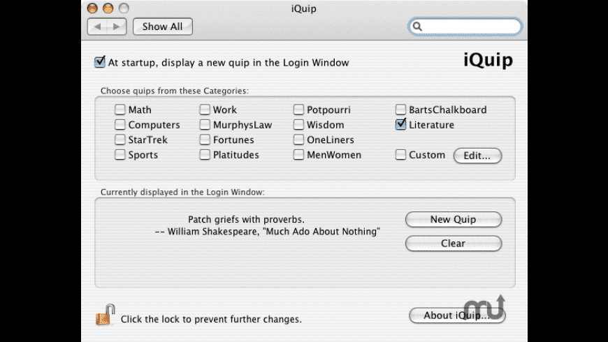 iQuip for Mac - review, screenshots