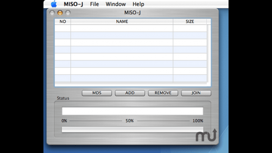 MISO-J for Mac - review, screenshots
