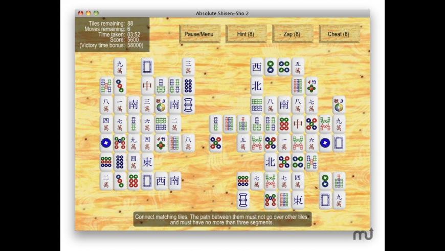 Absolute Shisen-Sho 2 for Mac - review, screenshots