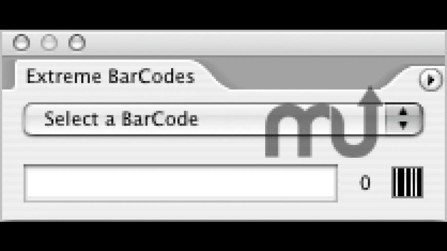 Cacidi Extreme BarCodes for Mac - review, screenshots