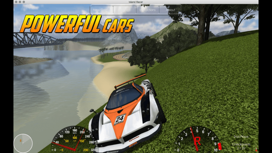 Island Racer for Mac - review, screenshots
