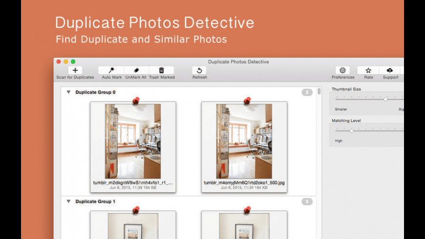 Duplicate Photos Detective for Mac - review, screenshots