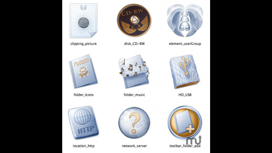 Paradise System Icons for Mac - review, screenshots