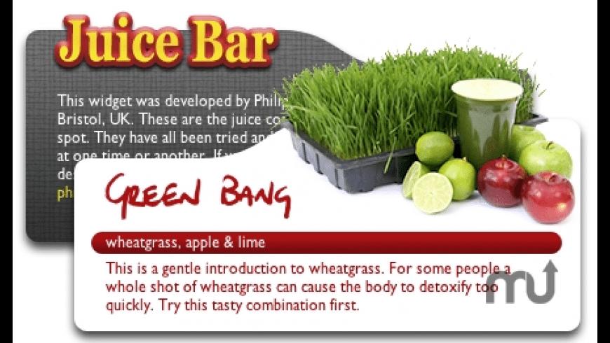 Juice Bar for Mac - review, screenshots